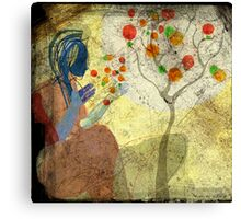 a whisper for mother nature 2 Canvas Print