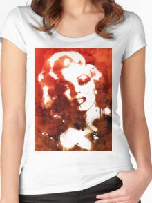 Immortal Monroe T2 Women's Fitted Scoop T-Shirt