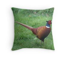 The Pheasant Throw Pillow