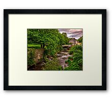 River Usk in Brecon Framed Print