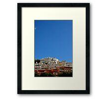 Sunny day, Finestrat Framed Print