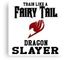 Fairy Tail - Train like Natsu! Canvas Print