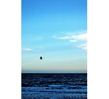 Blue sky over the Mediterranean Photographic Print