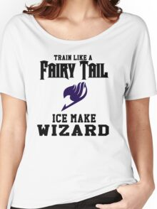 Fairy Tail - Train like Gray! Women's Relaxed Fit T-Shirt