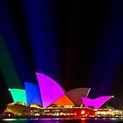 Opera House with Vivid Colour! by Matt-Dowse