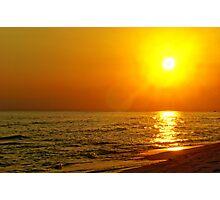 Panama City Beach Sunset Photographic Print
