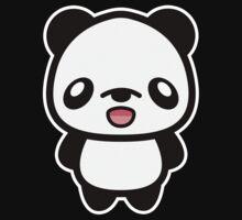 Happy Kawaii Panda by destei