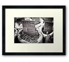 Spice Market Framed Print