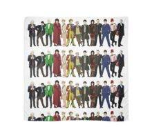 Doctor Who - 13 Doctors lineup Scarf