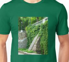 Old stone wall with ivy Unisex T-Shirt