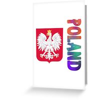 Poland - Coat of Arms Greeting Card