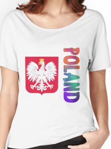 Poland - Coat of Arms Women's Relaxed Fit T-Shirt