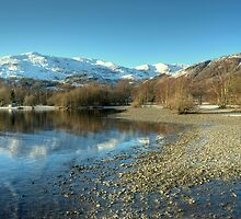 Coniston, Water & Fells by Jamie  Green