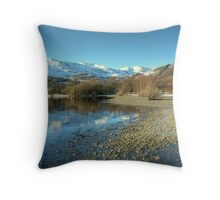 Coniston, Water & Fells Throw Pillow