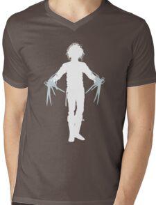 Wanna Play Scissors, Paper, Stone? Mens V-Neck T-Shirt