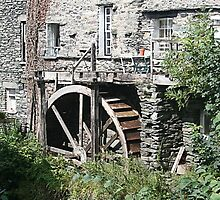 Old Watermill, Ambleside, Lake District by Jan Szymczuk