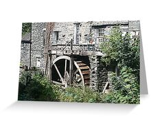 Old Watermill, Ambleside, Lake District Greeting Card