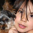 Gianna and Her Puppy by Deborah  Allen