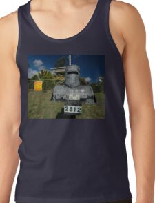 Letterbox (Ned Kelly helmet-shaped), Lue, NSW, Australia Tank Top