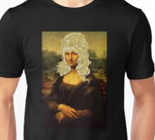 Blonde Mona Lisa  Unisex T-Shirt