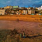 The sea front at Broadstairs by tallview