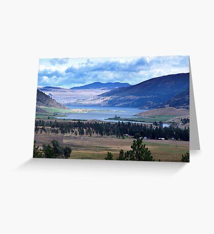 Lake and Nicola Valley Greeting Card