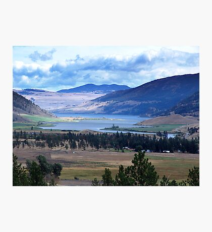 Lake and Nicola Valley Photographic Print