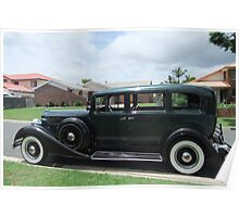 1934 Packard Limousine Poster