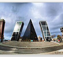 Madrid. Plaza de Castilla. by josemazcona