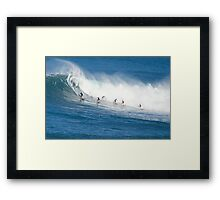 Hawaiian Avalanche Framed Print