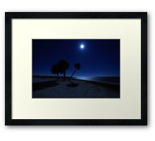 starry nights Framed Print