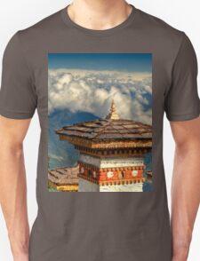 a historic Bhutan landscape T-Shirt