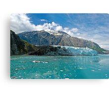 melting glacier Metal Print