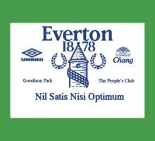 Everton Football Club Kids Clothes