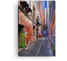 Croft Alley Canvas Print