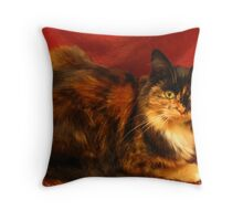 Luscious Lily Throw Pillow