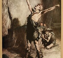 Siegfried & The Twilight of the Gods by Richard Wagner art Arthur Rackham 1911 0008 Nothung Conquering Sword by wetdryvac