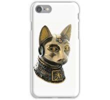 Egyptian cat, goddess of fertility iPhone Case/Skin