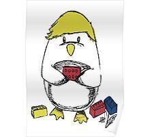 Hemmo's Penguin Poster