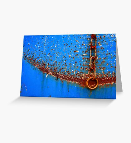 Chain Gang Greeting Card