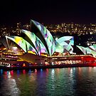 Vivid on the Opera House  by Matt-Dowse