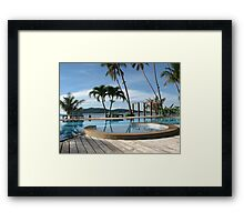 Tropical Paradise in Thailand Framed Print