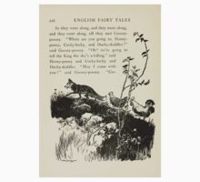 English Fairy Tales by Flora Annie Webster Steel art Arthur Rackham 1922 0270 Fox, Henny Penny, Cocky Locky One Piece - Short Sleeve