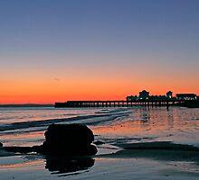 Southsea sunset by Nigel Kenny