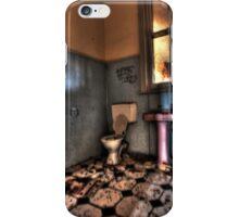 Pink pedestal. iPhone Case/Skin