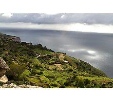 Dingli Cliffs, Malta Photographic Print