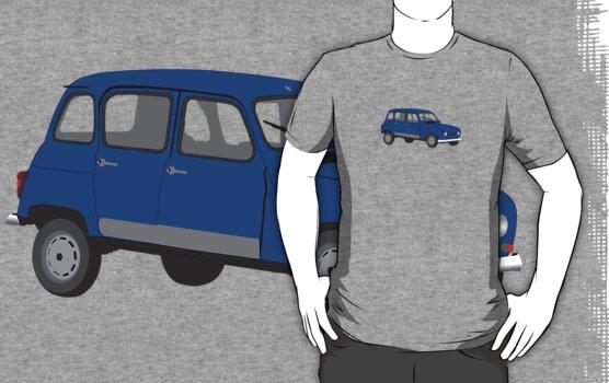 Renault 4 GTL Blue by MangaKid
