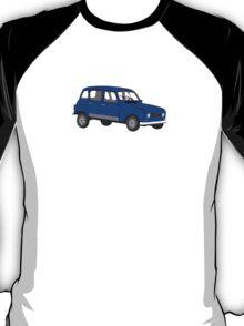 Renault 4 GTL Blue T-Shirt