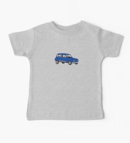 Renault 4 GTL Blue Baby Tee