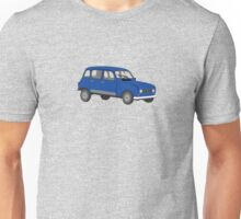 Renault 4 GTL Blue Unisex T-Shirt
